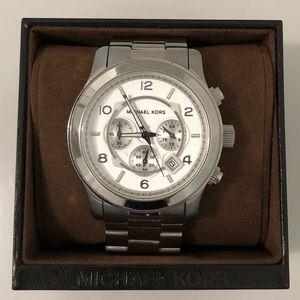 MK oversized watch